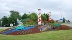 Rond point ES (thème : mer - 2010)